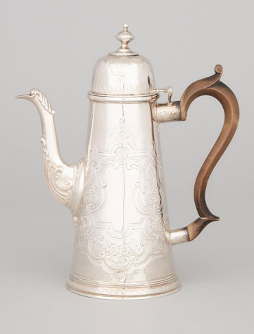 Rare Silver from Liverpool in Our Decorative Arts & Design Auction