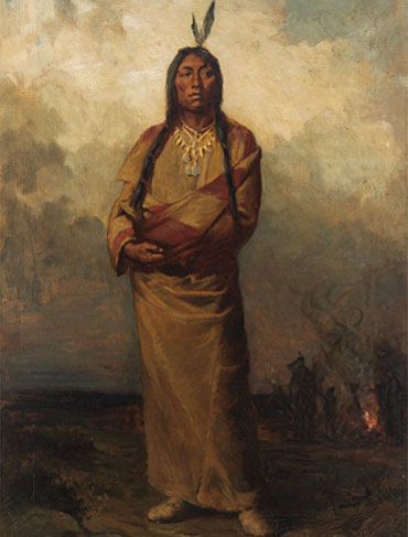 Important Portrait of Chief Poundmaker Achieves Record Price