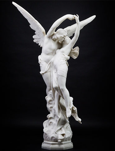 Cupid and Pysche in our Fall 2019 Decorative Arts & Design Auction