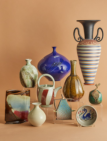 Paul Duval's Prized Collection of Ceramics