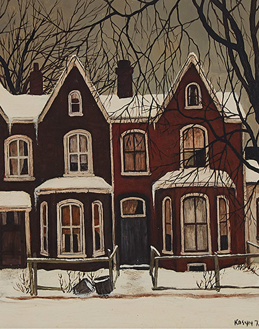 The Art of John Kasyn and Albert Franck in our Canadian Art Select Auction