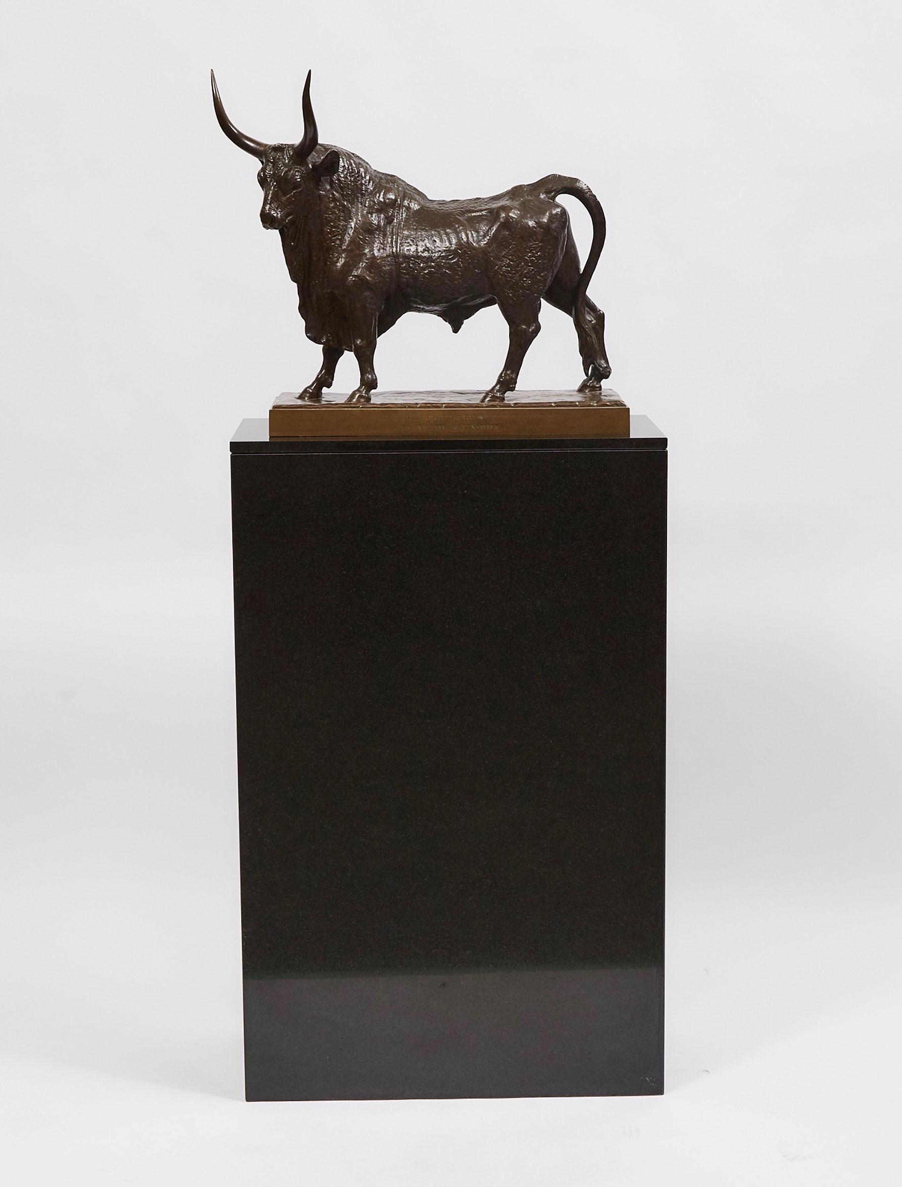 """""""Standing Bull"""" by Jean-Baptiste Auguste Clésinger"""