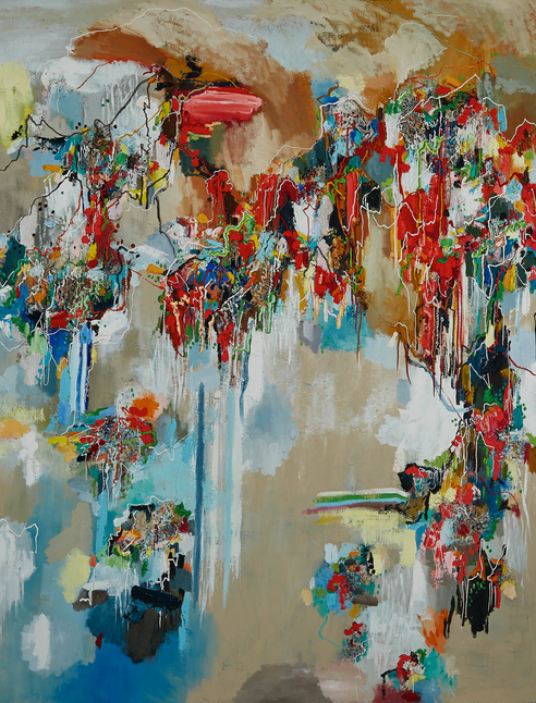 Line & Colour in Contemporary Art