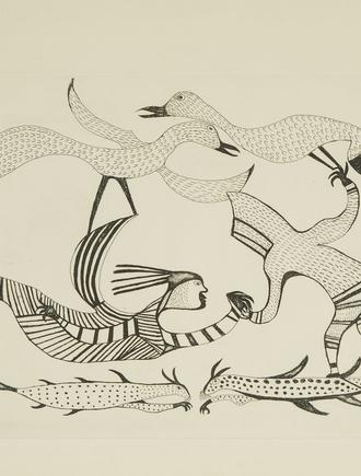 Printmaking in the Arctic