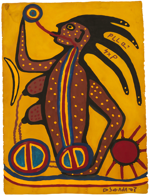 Meeting Norval Morrisseau: A Collector's Story